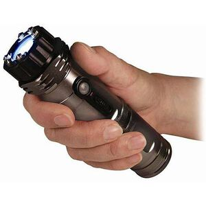 Personal Security Products Zap Light Flashlight and Stun Gun Black and Gray ZAPL