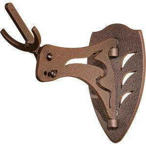 Skull Hooker Little Hooker European Trophy Mount Bracket Adjustable Brown