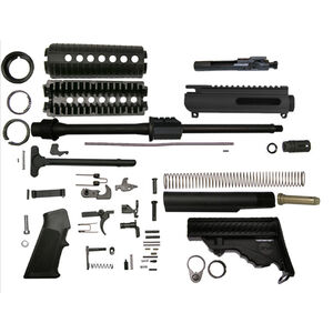"DPMS AR-15 Sportical Rifle Builders Kit 5.56 NATO 16"" Barrel DPMS Pardus Stock Matte Black Finish"
