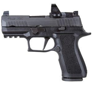 "SIG Sauer P320 RXP XCompact 9mm Luger Semi Auto Pistol 3.6"" Barrel 15 Rounds ROMEO1PRO/X-Ray3 Suppressor Sights Polymer Grip Frame Black Finish"