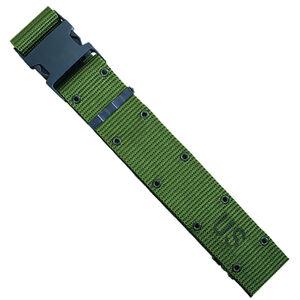 Web Pistol Belt Official Military Buckle One Size Nylon Black