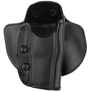 Safariland Model 568 Custom Fit Belt Loop Concealment Holster Fits Ruger SR9/9C and Similar Right Hand STX Plain Black