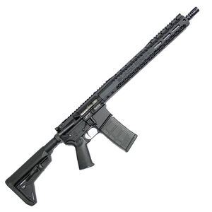 "Black Rain Spec15 SOCOM Plus AR15 Semi Auto Rifle 5.56 NATO 16"" SOCOM Barrel 30 Rounds Free Float Hand Guard Magpul MOE SL Stock Matte Black"