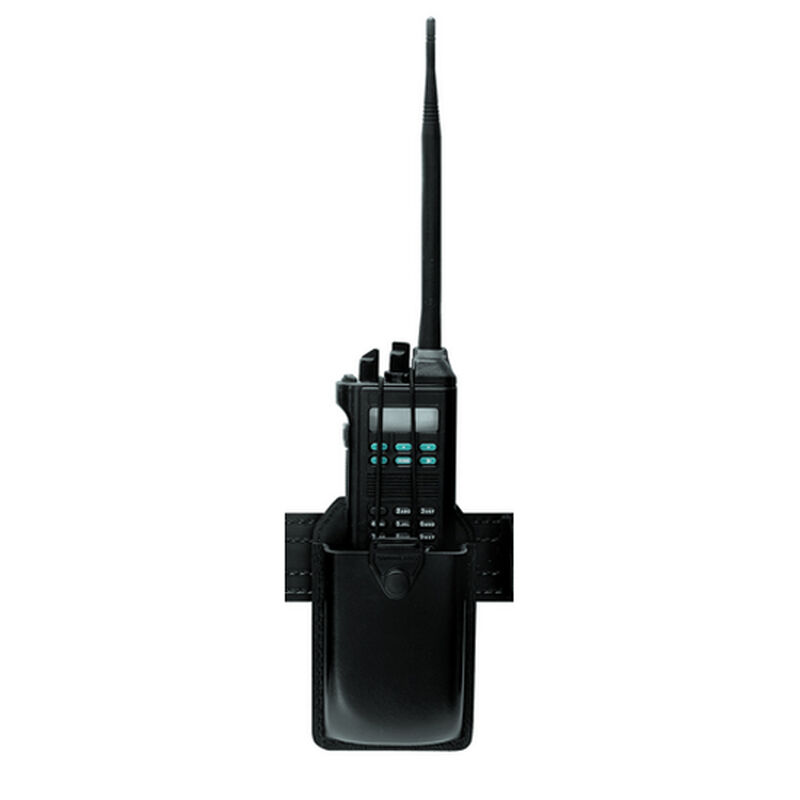 "Safariland Model 762 Radio Holder with Swivel Fits Radios 1.5"" x 3"" x 4.75"" Hardshell STX Tactical Black"