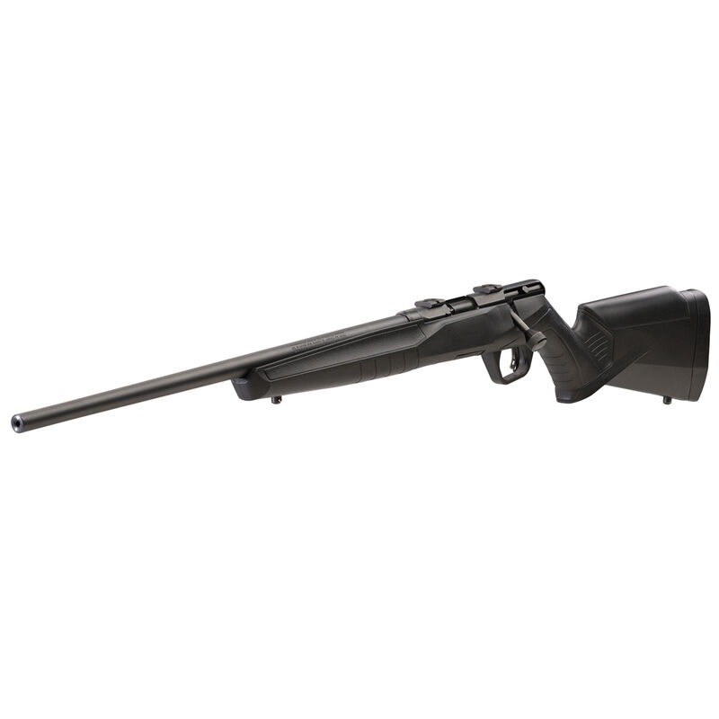 "Savage Model B22 F Left Hand Bolt Action Rimfire Rifle .22 LR 21"" Barrel 10 Rounds Synthetic Stock Black"