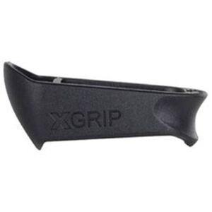 XGrip GLOCK 19-23 Magazine Adapter Magazine Spacer for Full Size GLOCK 17/22/31 Magazines Installed Into GLOCK 19/23/32 Frames Matte Black Finish