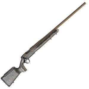 "Christensen Arms Mesa LR .308 Winchester Bolt Action Rifle 24"" Threaded Barrel 4 Rounds Carbon Fiber Composite Long Range Stock Green Black Tan / Burnt Bronze Finish"