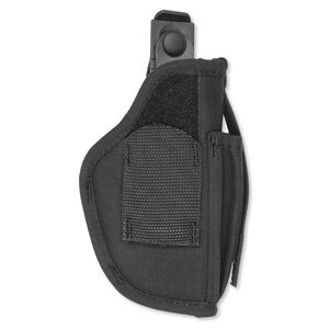 "Uncle Mike's Sidekick Ambidextrous Hip Holster, Black, 3 1/4"" - 3 3/4 "" Barrel Medium and Large Autos"