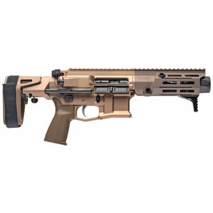 "Maxim Defense PDX 7.62x39 Semi Auto Pistol 5.5"" Barrel 20 Rounds M-LOK Free Float Forend Maxim Defense SCW PDW Pistol Stabilizing Brace Arid Flat Dark Earth"