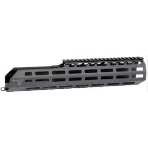 "Midwest Industries SIG Sauer MCX Virtus 13.5"" One Piece Suppressor Compatible Drop In M-LOK Compatible Hand Guard 6061 Aluminum Hard Coat Anodized Finish Matte Black"