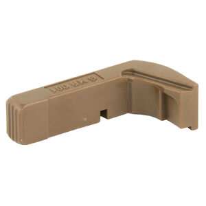 Tango Down Vickers Extended Tactical Magazine Release Gen 4 GLOCK 17/19/22/23/24/26/27/31/32/33/34/35/37 Only Polymer Flat Dark Earth