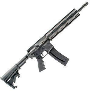 "Chiappa Mfour-22 Gen-II Pro Semi Auto Rifle .22 LR 16"" Barrel 11.8"" Free Float Forend 10 Rounds Rubber Grip Black CF500.089"