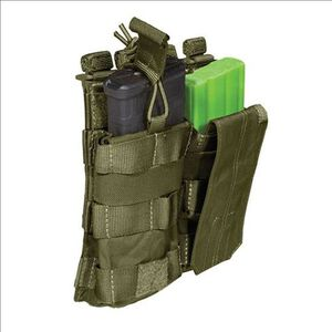 5.11 Tactical AR/G36 Bungee With Cover Pocket Double Holster Nylon Tac OD 56157