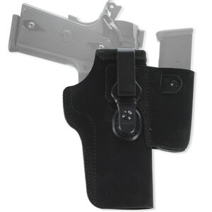 "Galco Walkabout 2.0 Holster IWB Fits 1911 with 4"" Barrels and Similar Ambidextrous Leather Black"