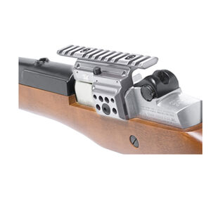 GG&G Ruger Mini-14 Side Scope Mount Silver