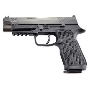 """Wilson Combat Sig P320 Full Size 9mm Semi Auto Pistol 4.7"""" Barrel 17 Rounds Action Tuned Curved Trigger Black"""