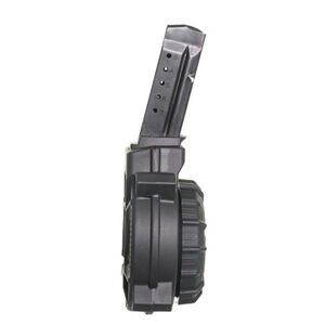 PROMAG SMITH & WESSON SHIELD 9MM 50 Round Drum Magazin BLACK Polymer DRM-A15