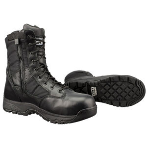"Original S.W.A.T. Metro Safety Boots 9"" Waterproof Side Zip Leather/Nylon Rubber Size 11 Regular Black 129101-11.0/EU44"