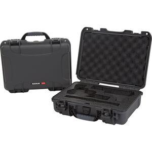 Nanuk 910 Classic 2 Up Pistol Case Waterproof Dustproof High Impact Polymer Graphite 910-CLASG7