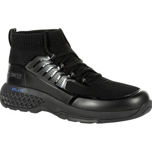 "Rocky International Women's Code Blue 8"" Knit Public Service Boot Size 6 Black"