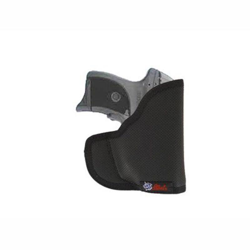 DeSantis N38 Nemesis Pocket Holster For GLOCK 26/Ruger LCP/S&W M&P Shield  With Laser Nylon Black N38BJU4Z0