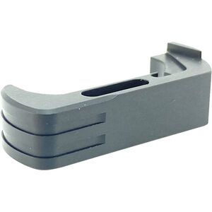 Cross Armory Extended Magazine Catch For Glock 17/19/22 Gen 4 And 5 Aluminum Black