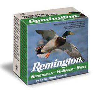 "Remington 12 Gauge Ammunition 25 Rounds Sportsman 2.75"" 1.125 oz. Steel #4 SST12S4"