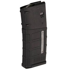 Magpul Windowed PMAG 25 DPMS LR 308/SR-25 Magazine, 25 Rounds, Gen M3, Black