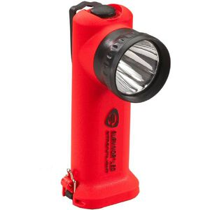 Streamlight Survivor Series C4 LED Flashlight 4 Function 140 Lumen 3.48 Volt AC/DC Rechargeable Battery Click Switch Thermoplastic Orange 90503