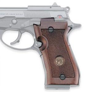 Beretta 87 Target Grips Wood Checkered Walnut Finish