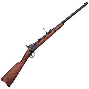 """Cimarron Trapdoor Cavalry Carbine 45-70 Govt 22"""" Barrel 1 Round Hardwood Stock Blued"""