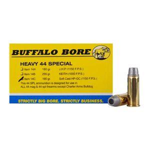 Buffalo Bore Heavy .44 Special Ammunition 190 Grain Soft Cast HP 1150fps