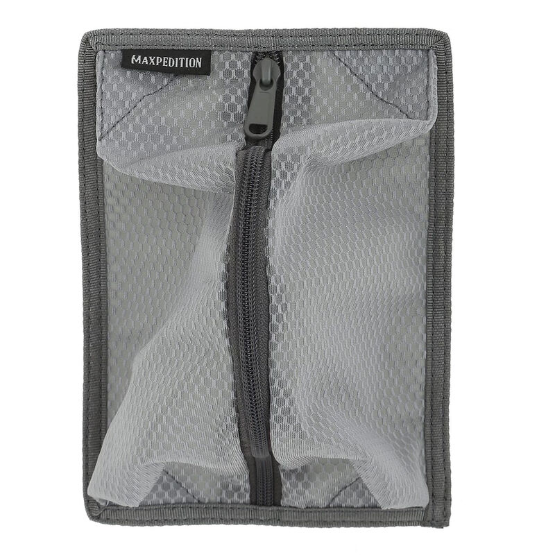 Maxpedition Entity Hook and Loop Mesh Storage Panel Gray Velcro Pen Holder CCW EDC