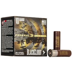 """Federal Black Cloud FS Steel 10 Gauge Ammunition 3-1/2"""" #2 1-5/8 Oz Steel Shot 1375 fps"""