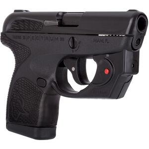 "Taurus Spectrum .380 ACP Semi Auto Pistol 2.8"" Barrel 6 Rounds with Viridian Laser Black Polymer Frame with Black Inserts Black Finish"