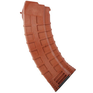 TAPCO AK-47 7.62x39mm Magazine 30 Rounds Polymer Orange 16648