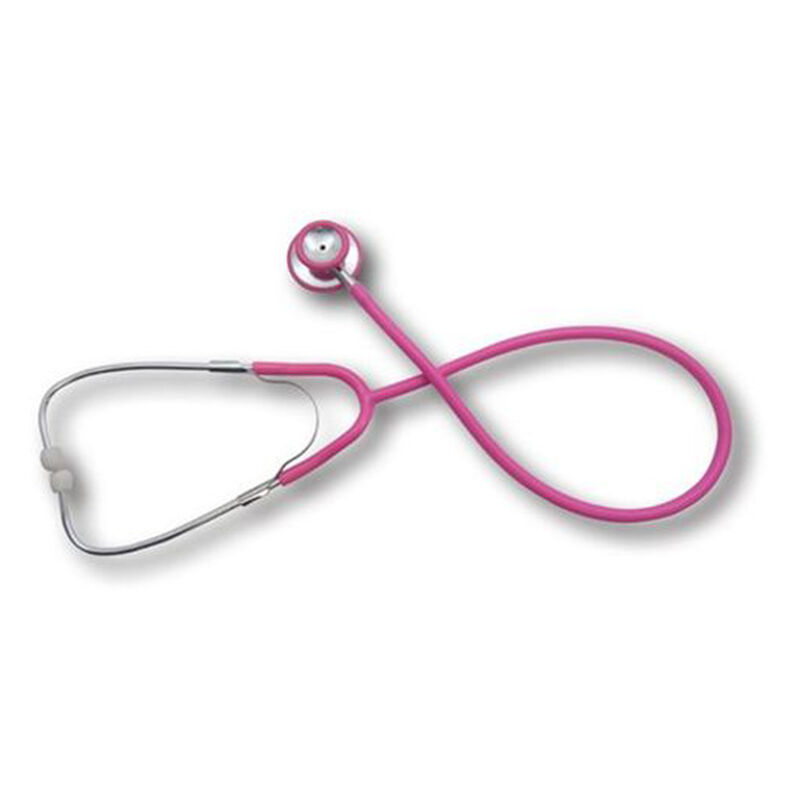 EMI Dual Head Stethoscope Stainless Steel Pink 951