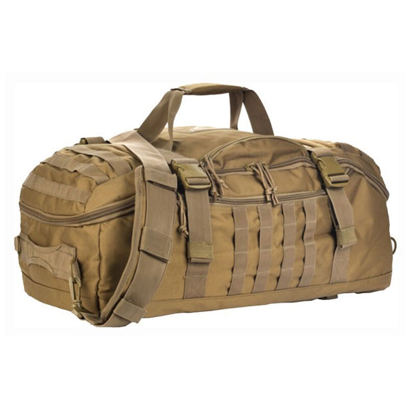 7314d43f9a7d Red Rock Outdoor Gear Traveler MOLLE Duffle Bag Polyester Coyote Tan  80260COY