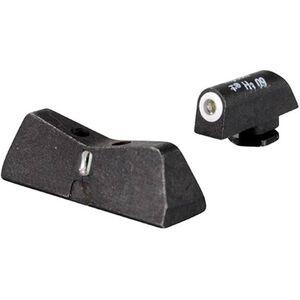 XS Sight Systems DXT Standard Dot Night Sights GLOCK 20/21/29/30/30S/36/37/41 Green Tritium Front/Tritium Rear Matte Black