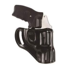 Galco Hornet GLOCK 43 Belt Holster Right Hand Leather Black