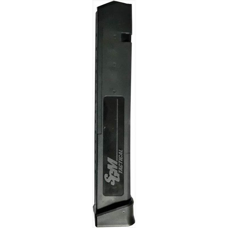 SGM Tactical GLOCK 22/23/27/35 Magazine .40 S&W 31 Rounds Polymer Black SGMT40G31R