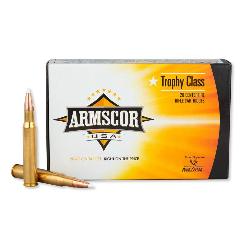 Armscor USA .30-06 SPRG Ammunition 160 Rounds PT 165 Grain