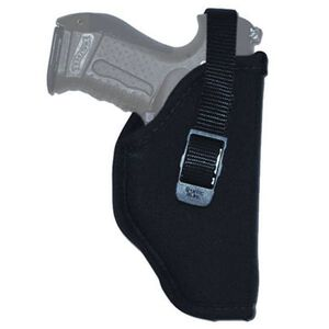 "GrovTec 15 3.5"" to 4.5"" Barrel Large Semi Autos GT Hip Holster Right Hand Nylon Black"