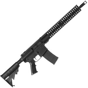 "CMMG Resolute 100 MkW-15 .458 SOCOM AR-15 Semi Auto Rifle 16"" Barrel 10 Rounds RML15 M-LOK Handguard Collapsible Stock Black"