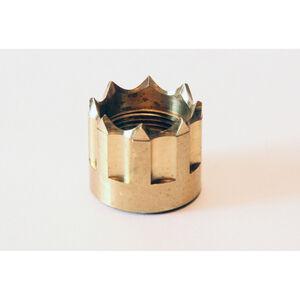 "LongShot Viper Thread Protector .578""-28 for Hi-Point 1095TS, 4095TS & 4595TS w/ Threaded Muzzle Polished Brass"