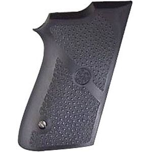 Hogue Monogrip S&W 9mm Compact 908, 3913 No Finger Groove Grip Rubber Black 13010