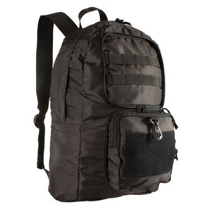 Red Rock Collapsible Backpack Black 85-001BLK