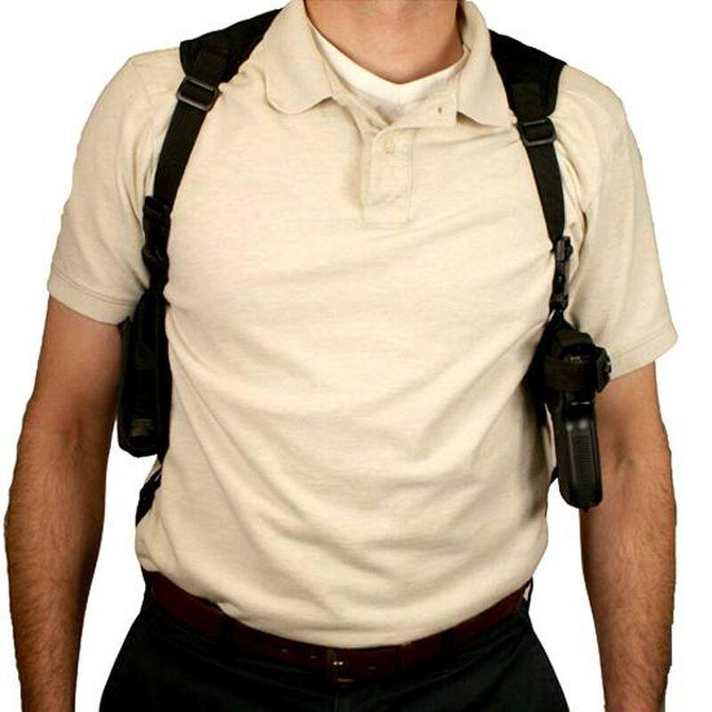 NcSTAR Ambidextrous Horizontal Shoulder Holster Black