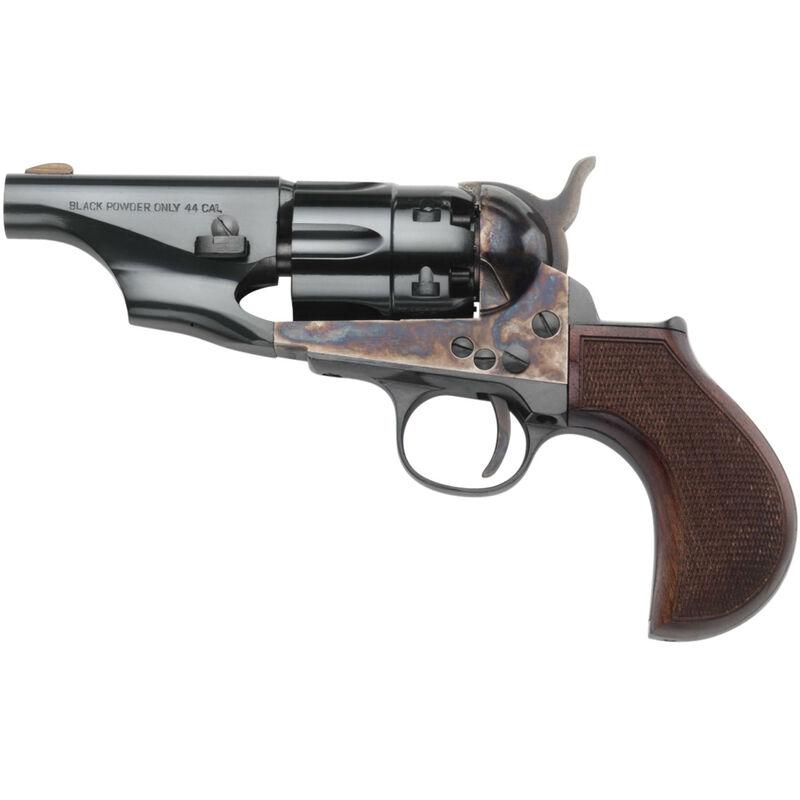 Taylor's & Co 1860 Army Snub Nose .44 Caliber Black Powder ...44 Magnum Snub Nose Revolver