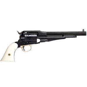 """Taylors & Company Lawdawg 45 Colt Single Action Revolver 6 Rounds 8"""" Barrel Blued Frame with Ivory Grips"""
